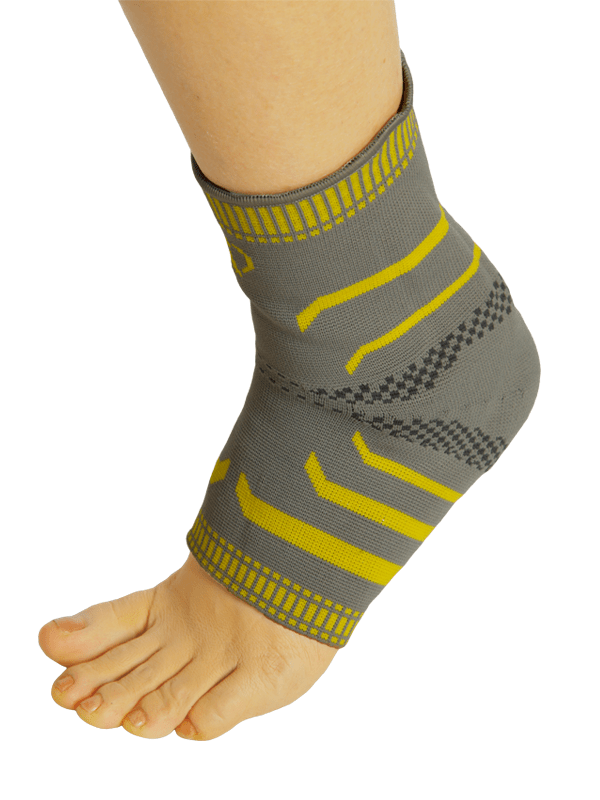 BodyCy Knitted Ankle Support With Silicone Pad